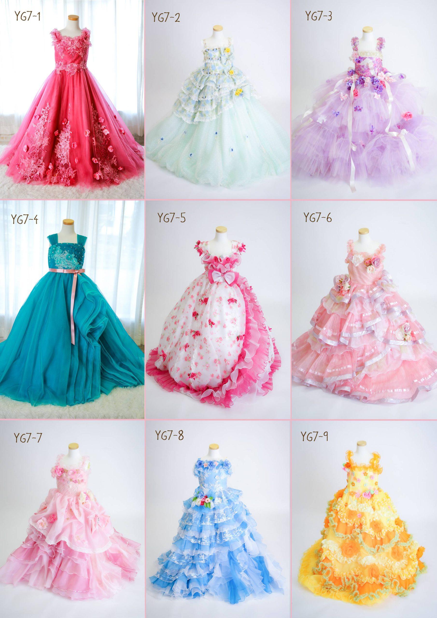 5-7歳女子ドレス1-1